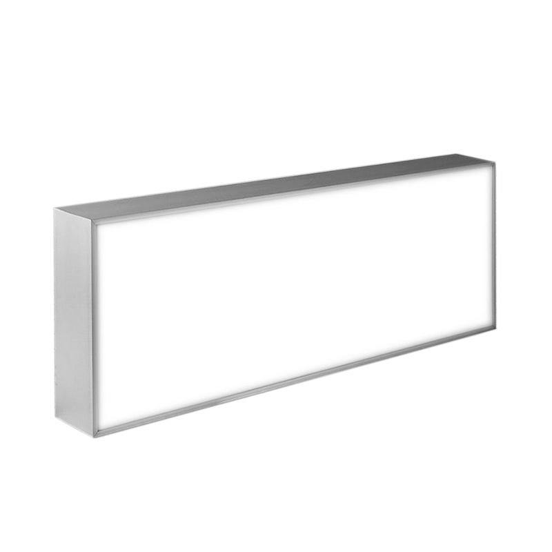 Enkelzijdige rechthoekige lichtbakken