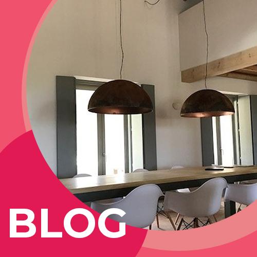 Moderne plafondlampen in huis
