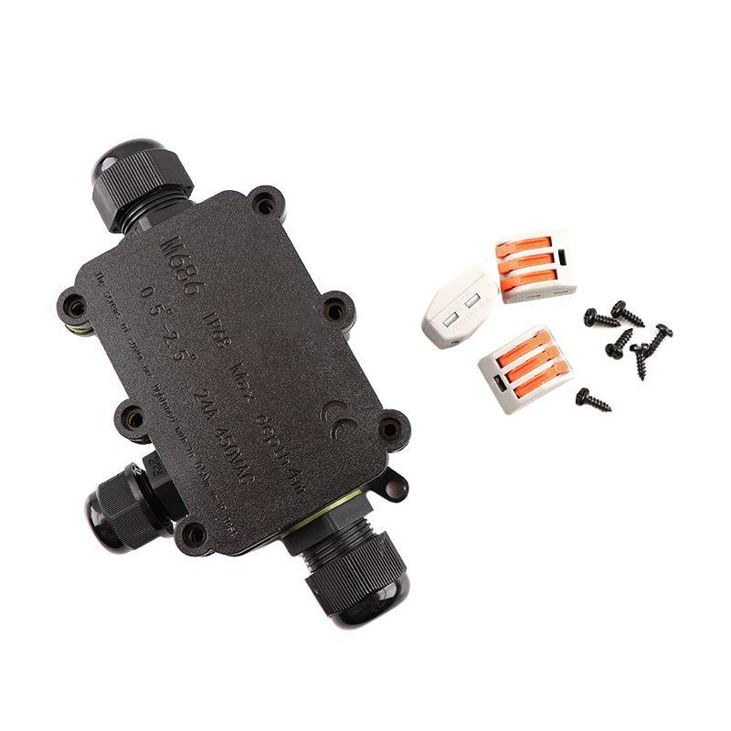 3-weg connector kabelkoppeling met wago plug