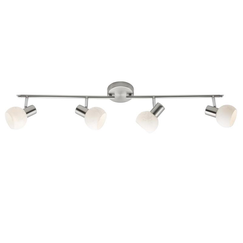 Plafonlamp Lasse, Met figuratieglas