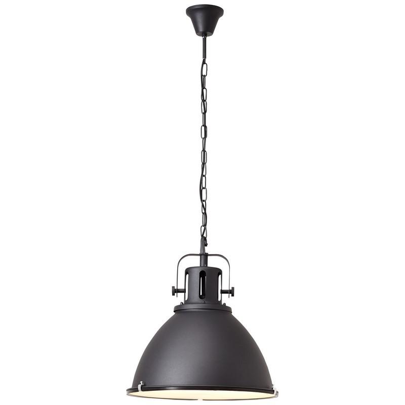 Industriële Hanglamp Jesmey - Zwart