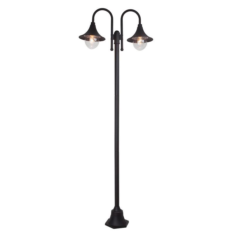 Zwarte buiten staande lamp Adrena - Zwart