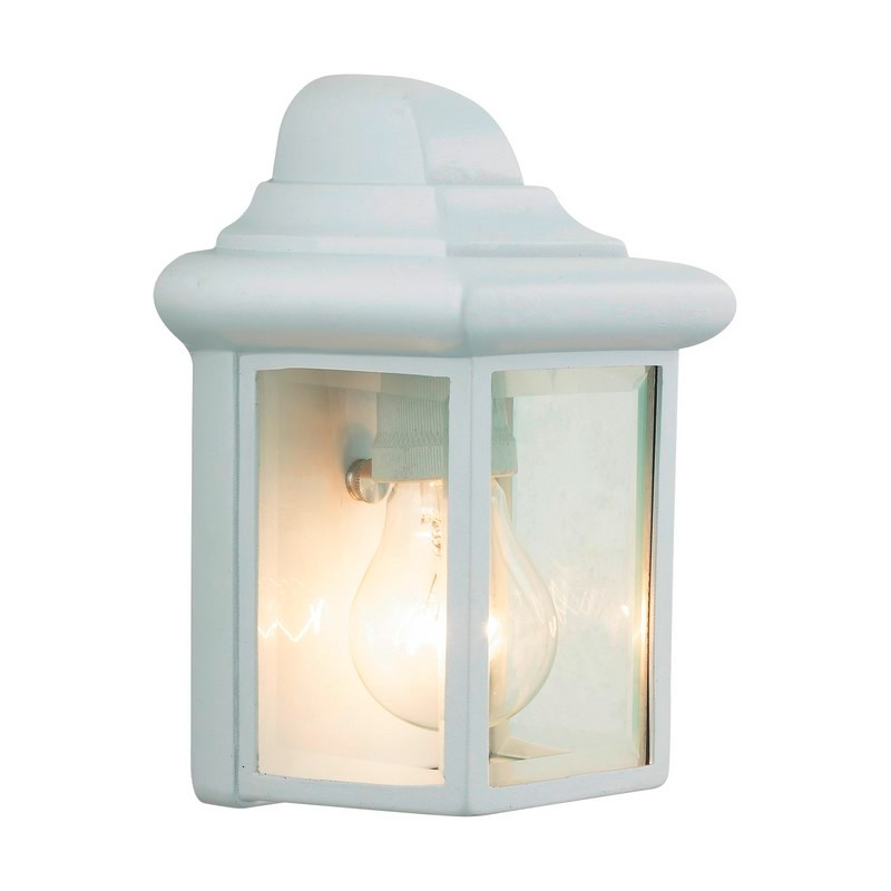 Witte buiten wandlamp Aayah