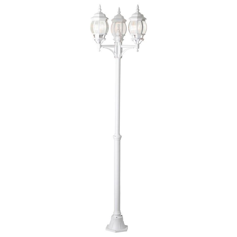 Witte buiten staande lamp Solin