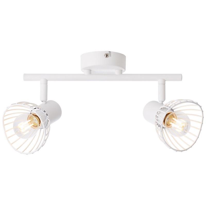Moderne plafondlamp Ivy, Wit