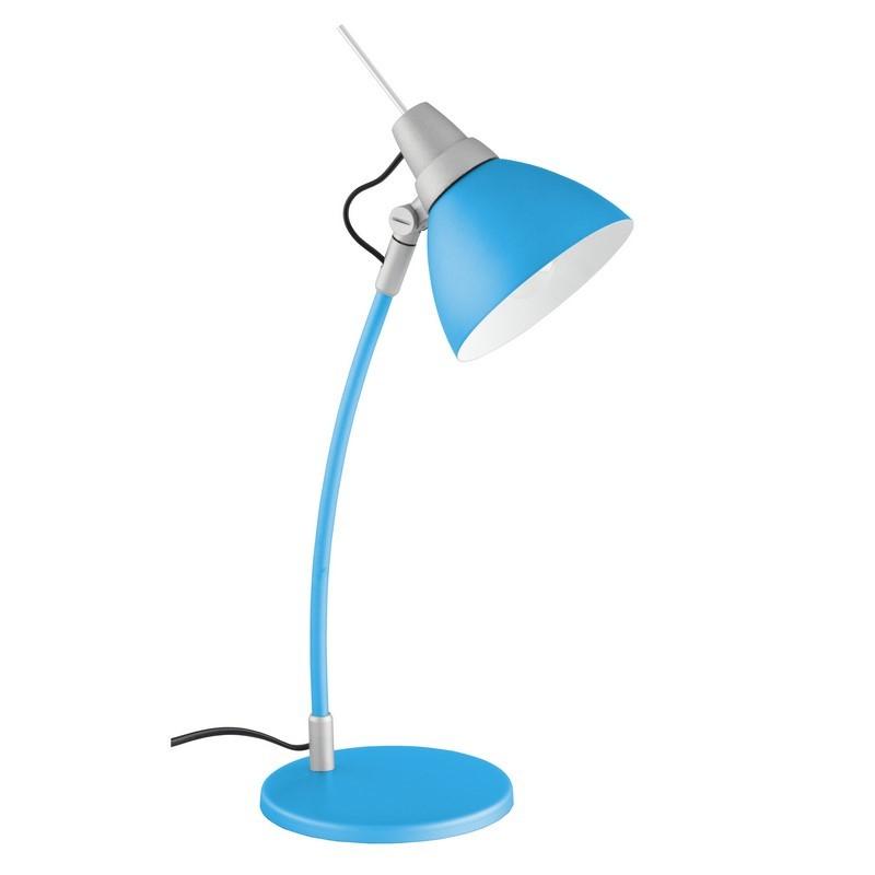 Blauwe bureaulamp Limar