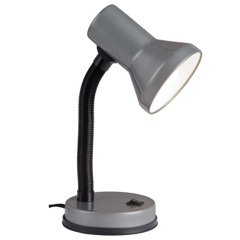 TitaanGrijze bureaulamp Loraine