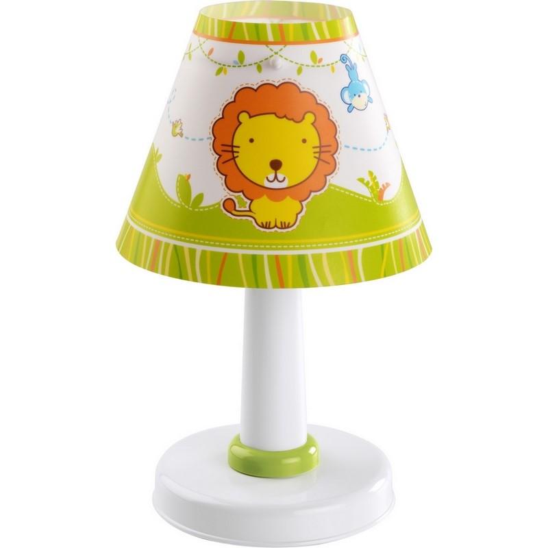 Dierentafellampkinderkamer-Groenmulti-color