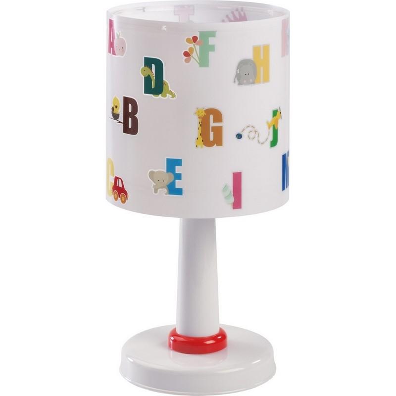 Kinder tafellamp ABC