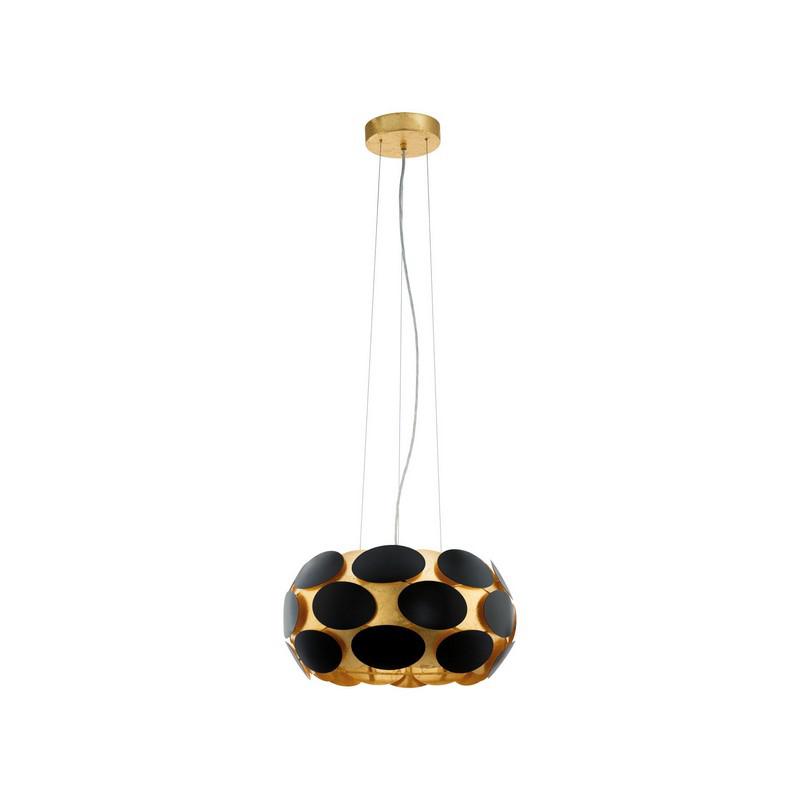Stalen hanglamp Nila zwart