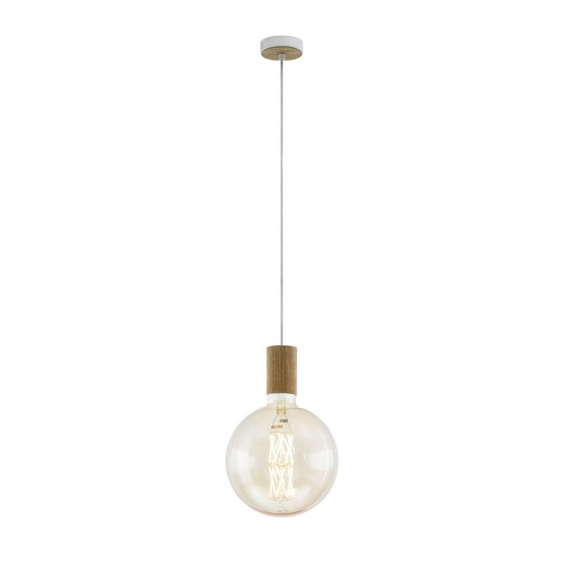 Stalen hanglamp Joy creme