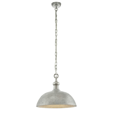 Abdelhafid hanglamp - Nickel