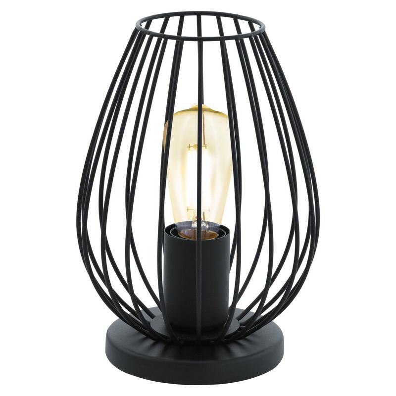Moderne Zwarte tafellamp Kitana