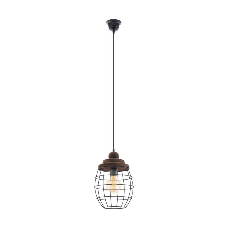 Abubakar hanglamp - Zwart