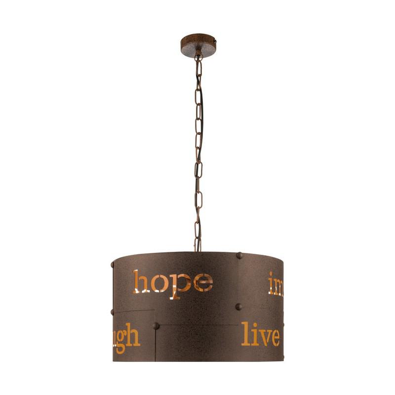 Afra hanglamp - Roestkleurig