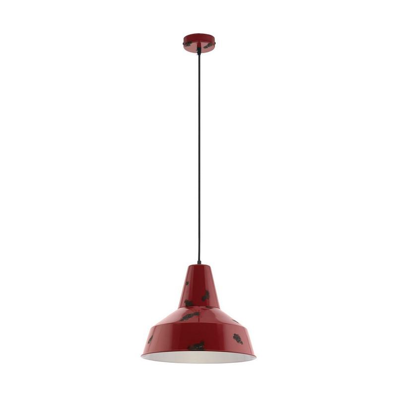 Agatha hanglamp - Rood