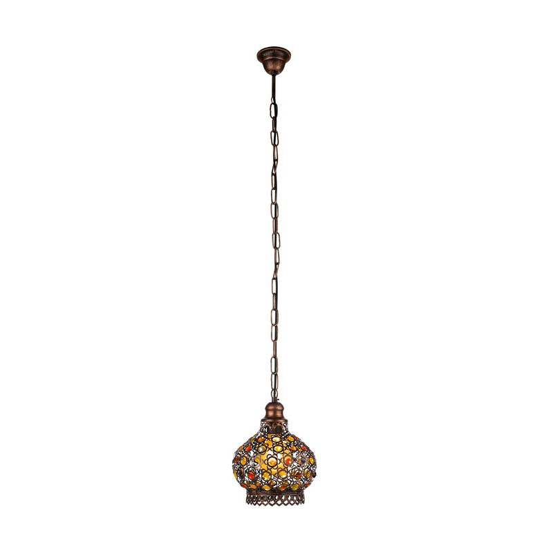 Ahalam hanglamp - Koperkleurig