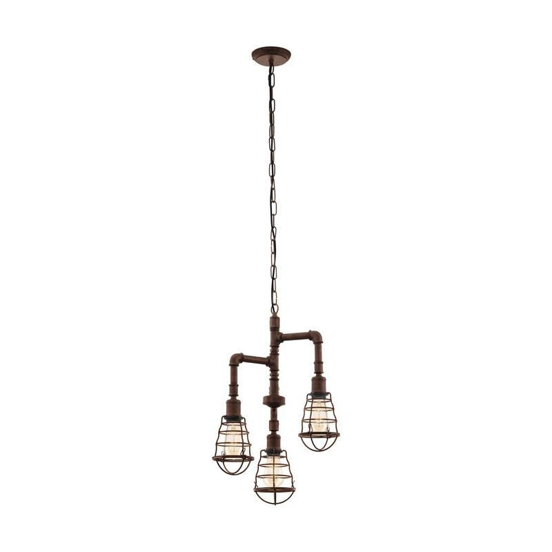 Aislinn hanglamp - Antiek-Bruin