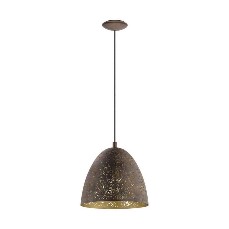 Aize hanglamp - Bruin Goud