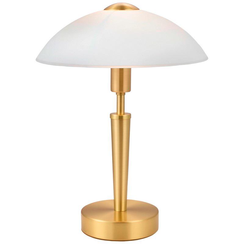 Gouden tafellamp Adi klassiek