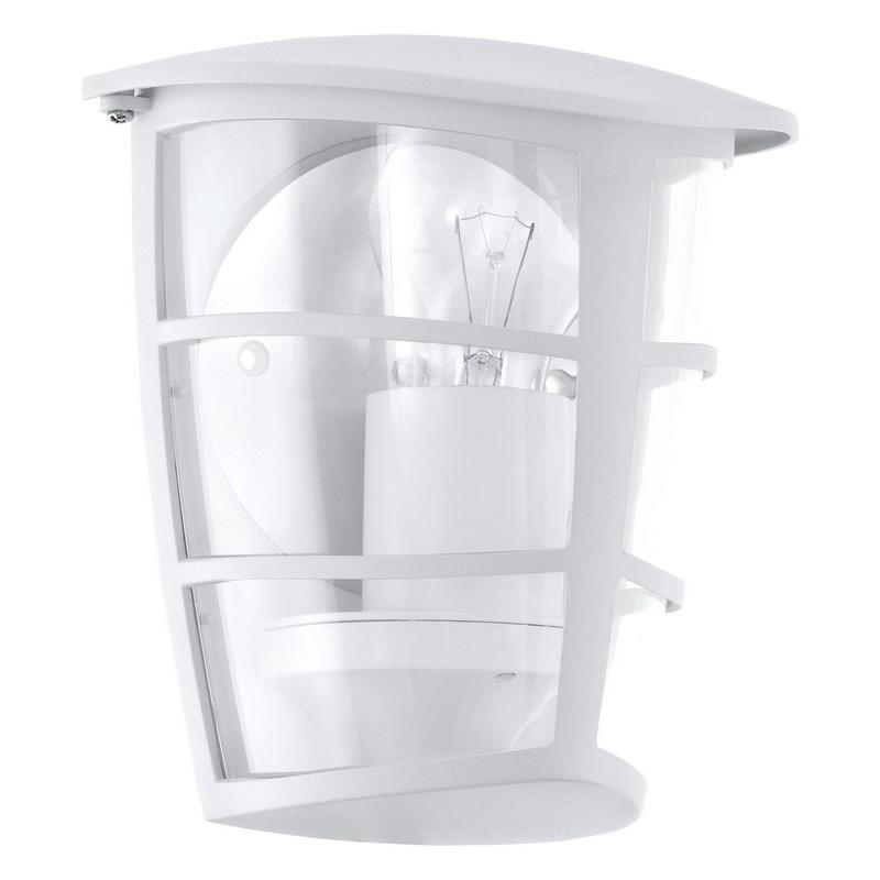 Kara buitenlamp gegoten aluminium wit