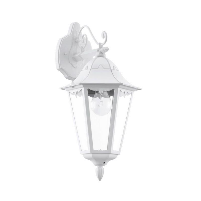 Krina buitenlamp gegoten aluminium wit