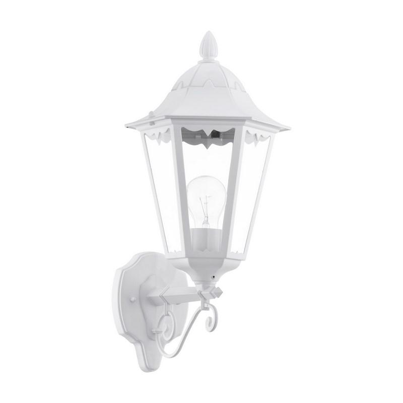 KUbra buitenlamp gegoten aluminium wit