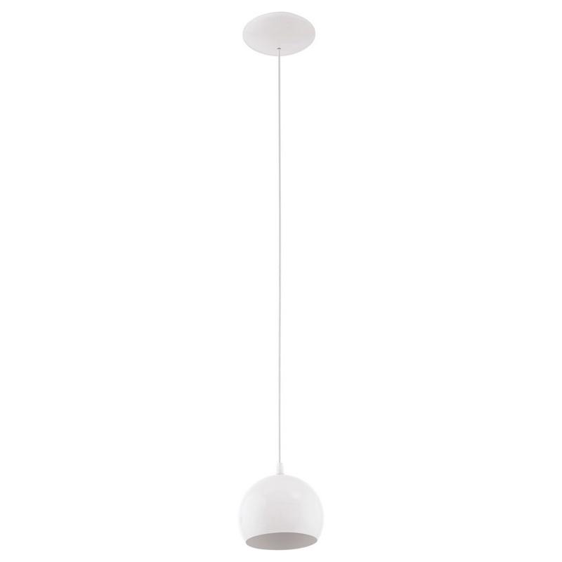 LED bol hanglamp Alliano Wit