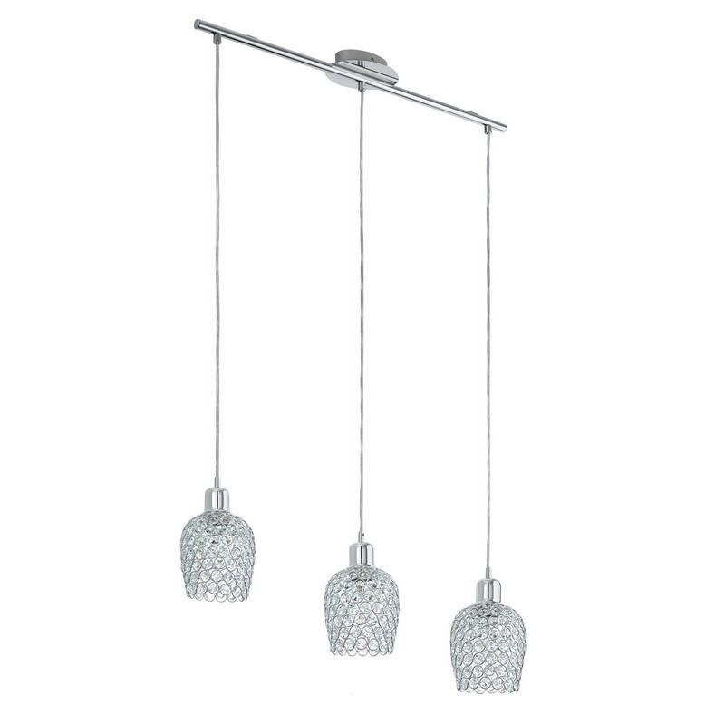 Alrik hanglamp - Chroom