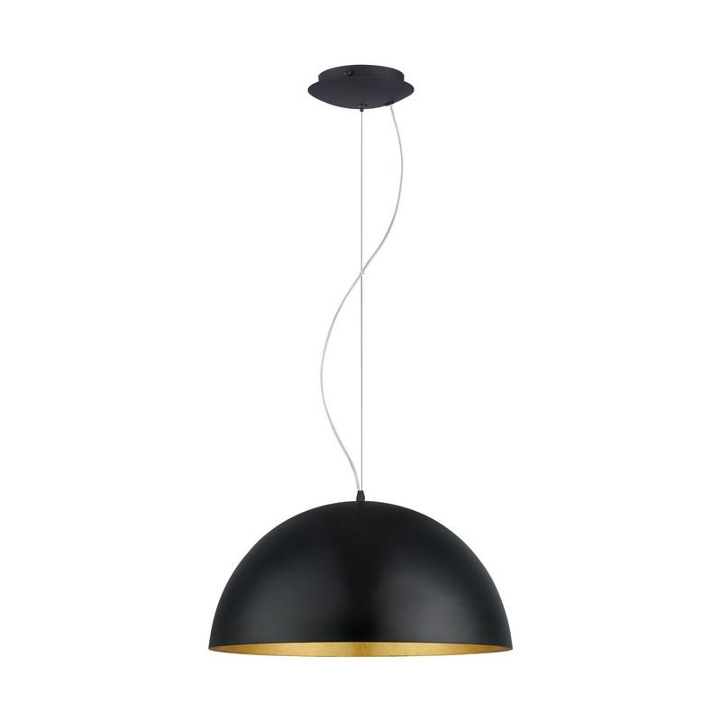 Amanda hanglamp - Zwart Goud