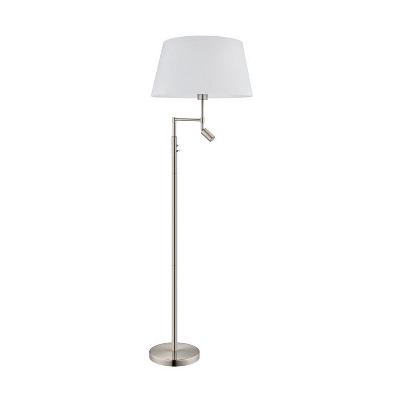 Amarens vloerlamp - Nikkel-Mat