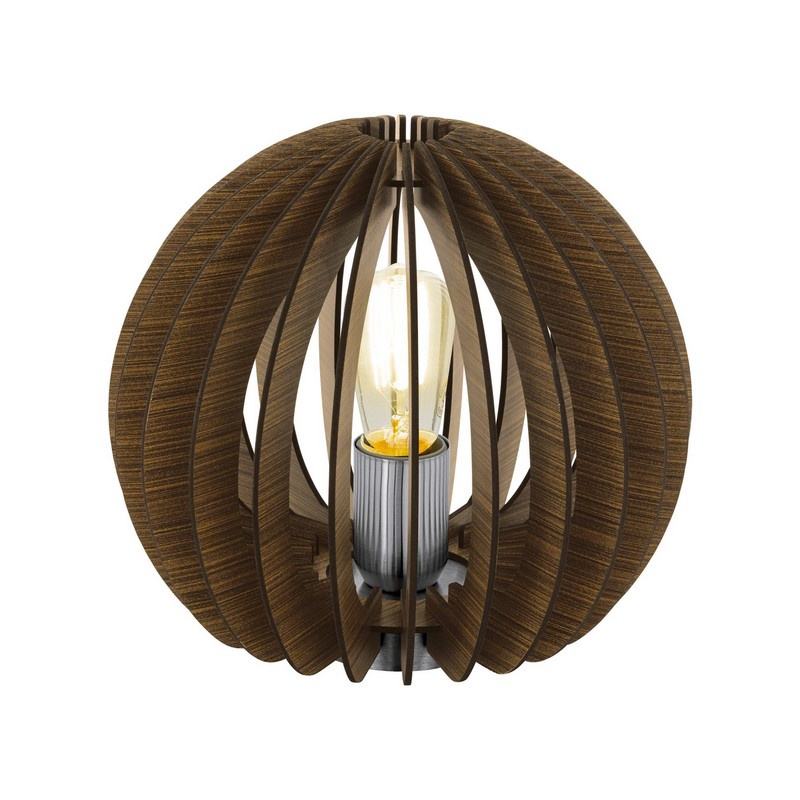 Amelie tafellamp - Nikkel-Mat
