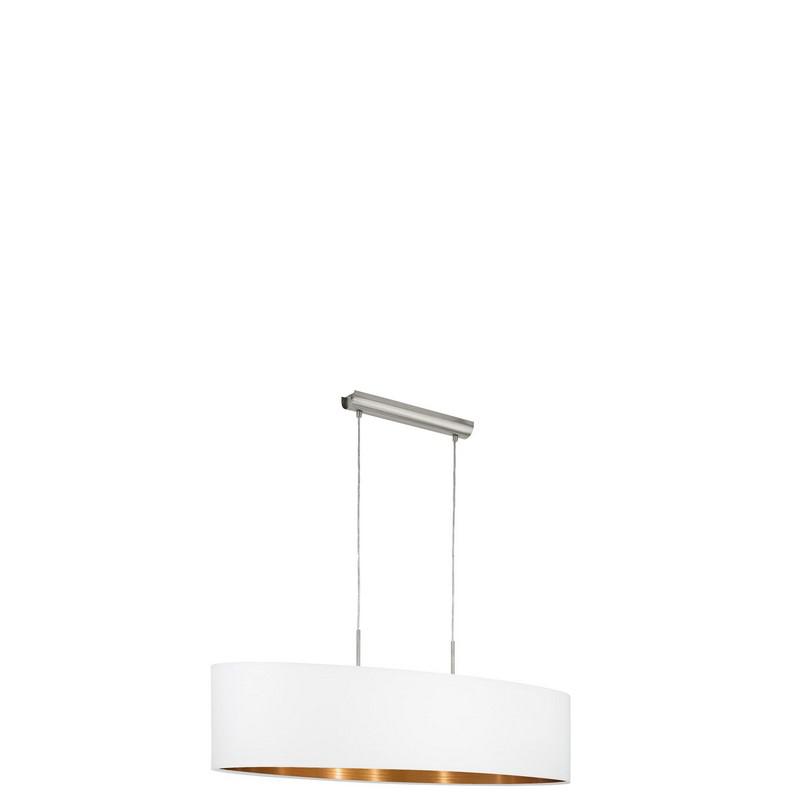 Andrea hanglamp - Nikkel-Mat