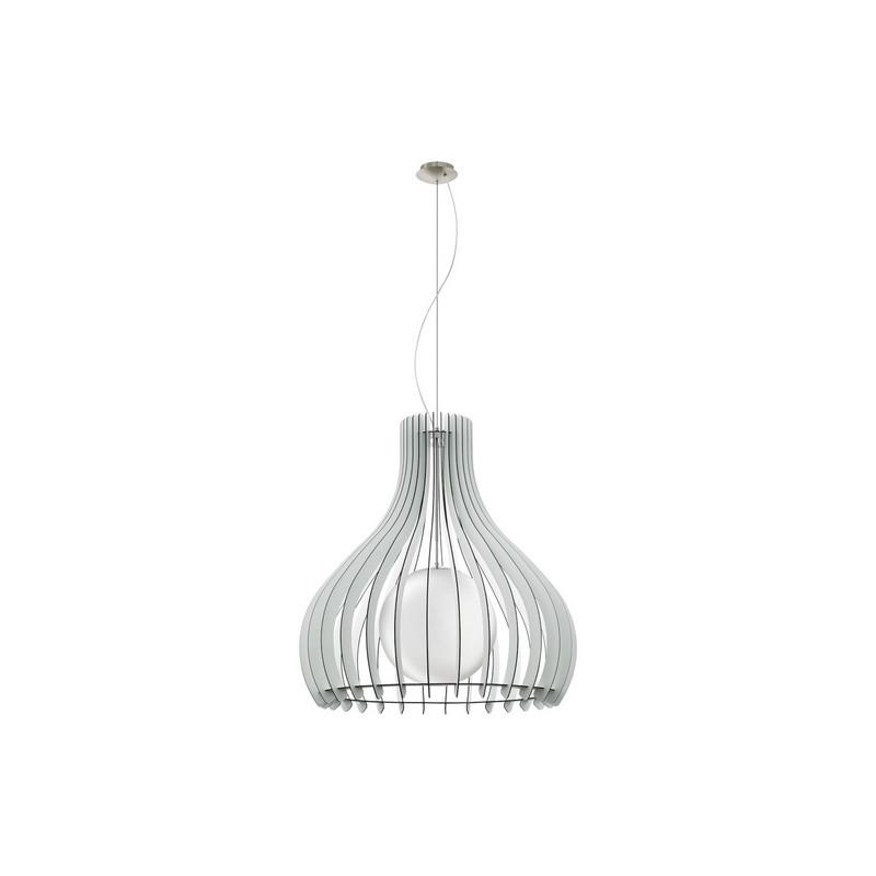 Bettie hanglamp - Nikkel-Mat