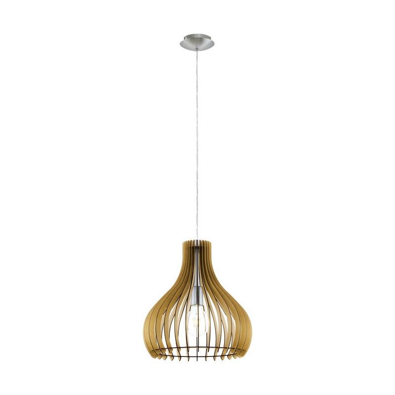 Binne hanglamp - Nikkel-Mat