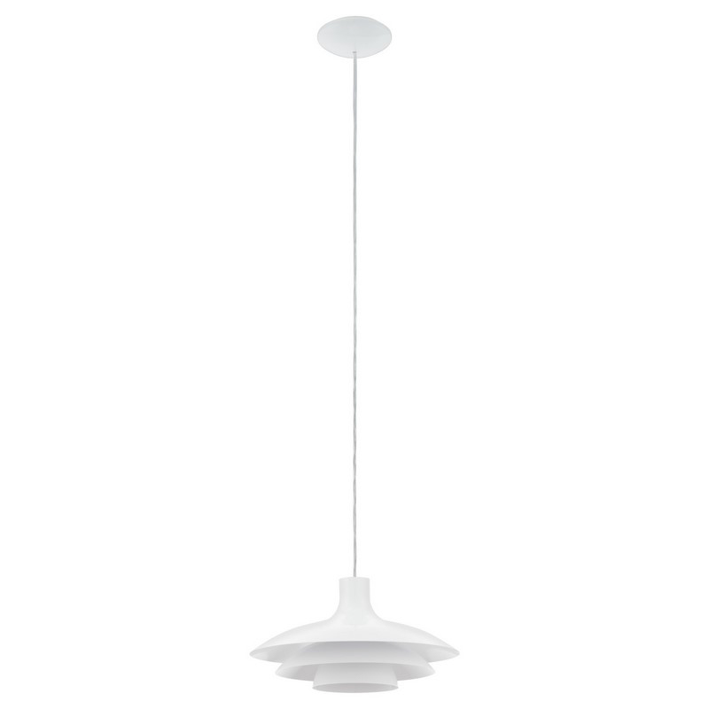 Cathalina hanglamp - Wit