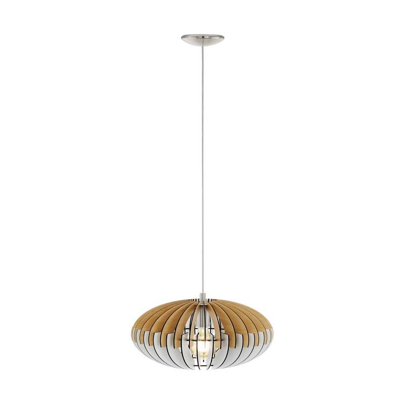 Ceylan hanglamp - Nikkel-Mat