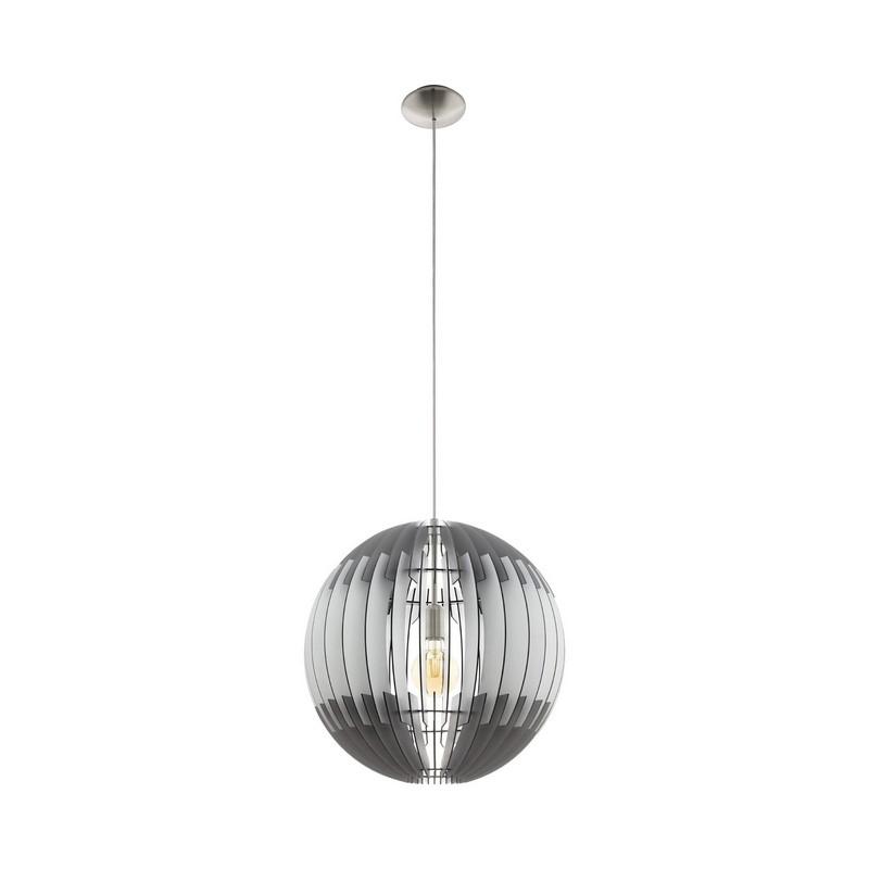 Chafik hanglamp - Nikkel-Mat