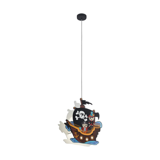 Stalen hanglamp Misja wit