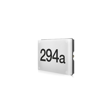 Nummer buitenlamp met dag-nacht sensor