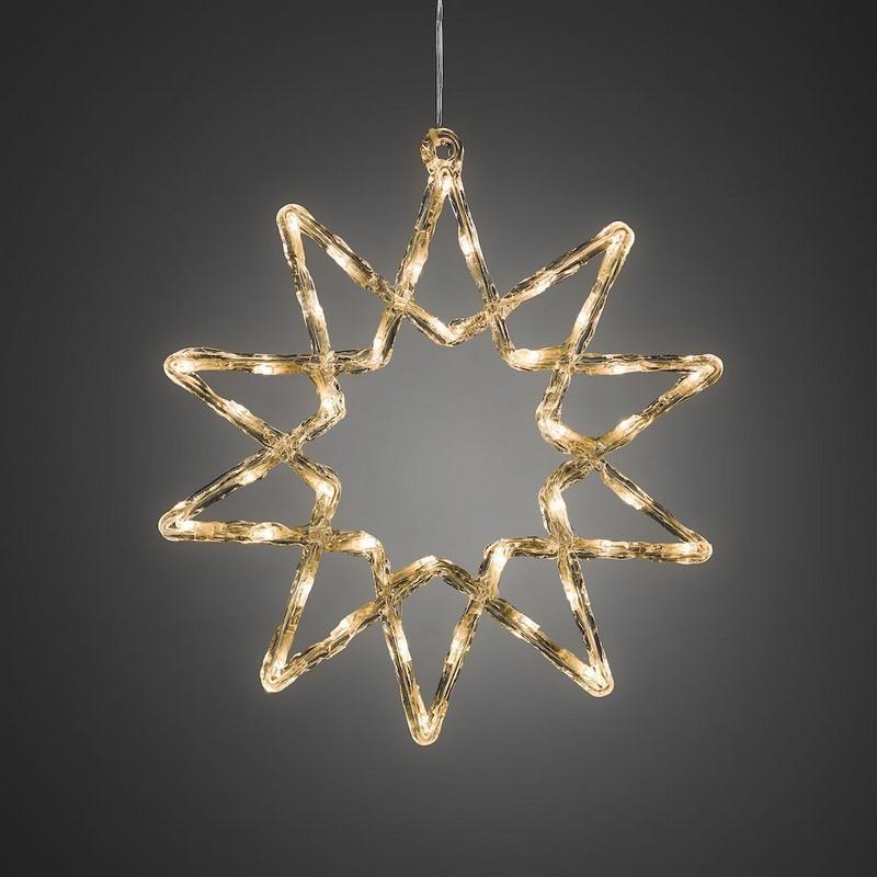 38 CM LED kerstster, 10 punts