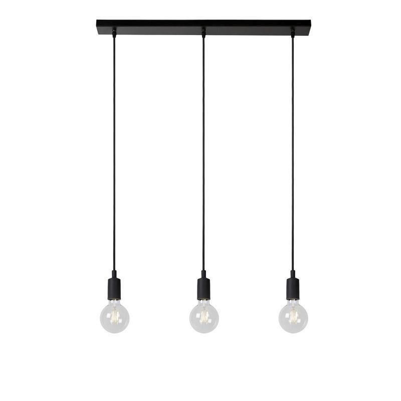 Zwarte hanglamp Fix, Siliconen