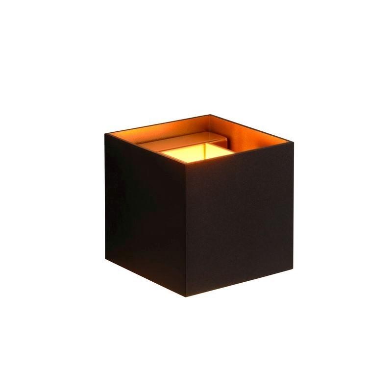 Moderne wandlamp Alen, Zwart