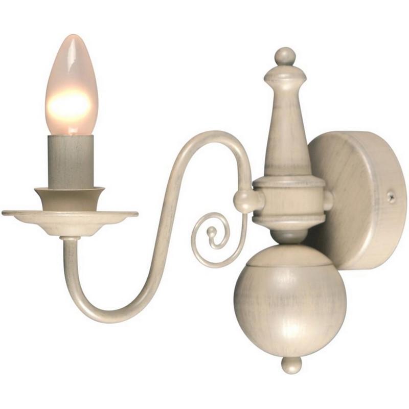Quincy wandlamp klassiek, creme
