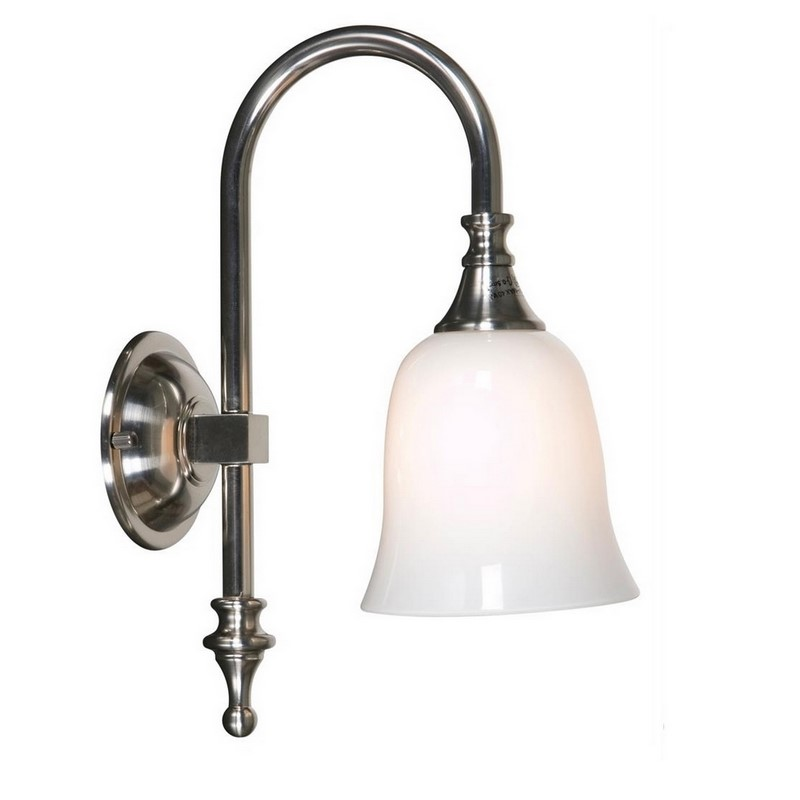 Badkamer wandlamp Delicia 03 nikkel, klassiek