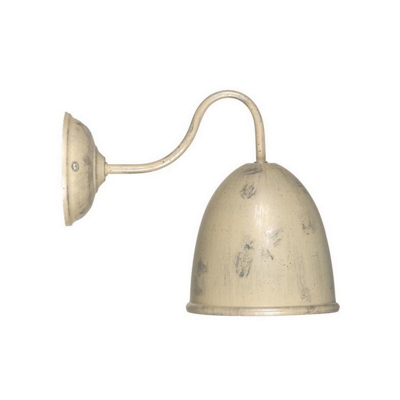 Wandlamp Giano beige/goud, landelijk