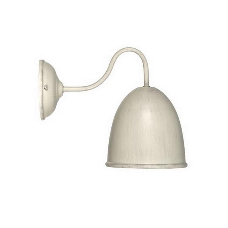Ronde Giano wandlamp landelijk, beige