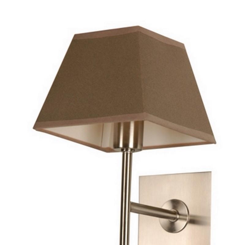 Zandkleurige Meba wandlamp, modern