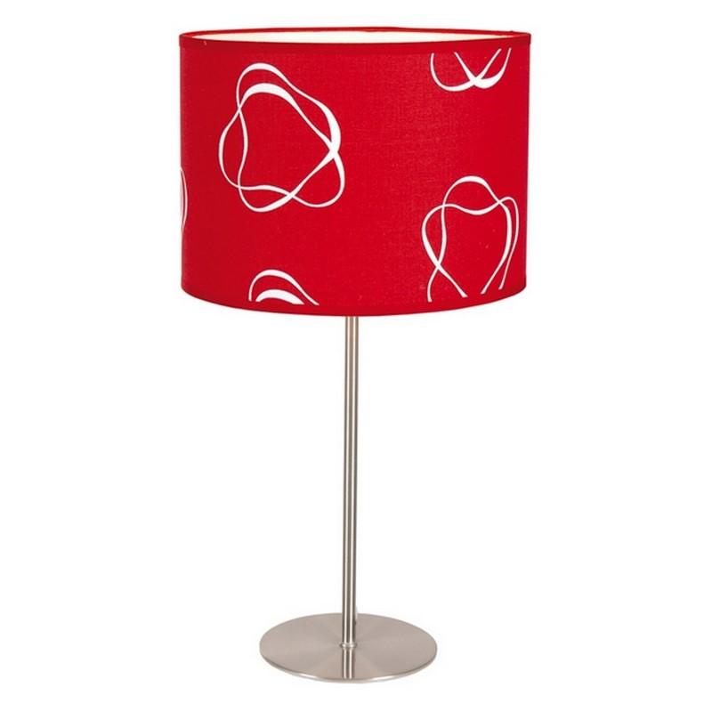 Moderne Sefanja tafellamp, rood met motief