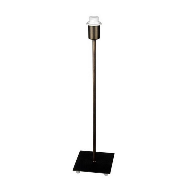Sietske basis tafellamp vierkant, brons